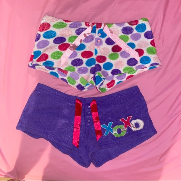 K&C Other - Fuzzy Pajama Shorts